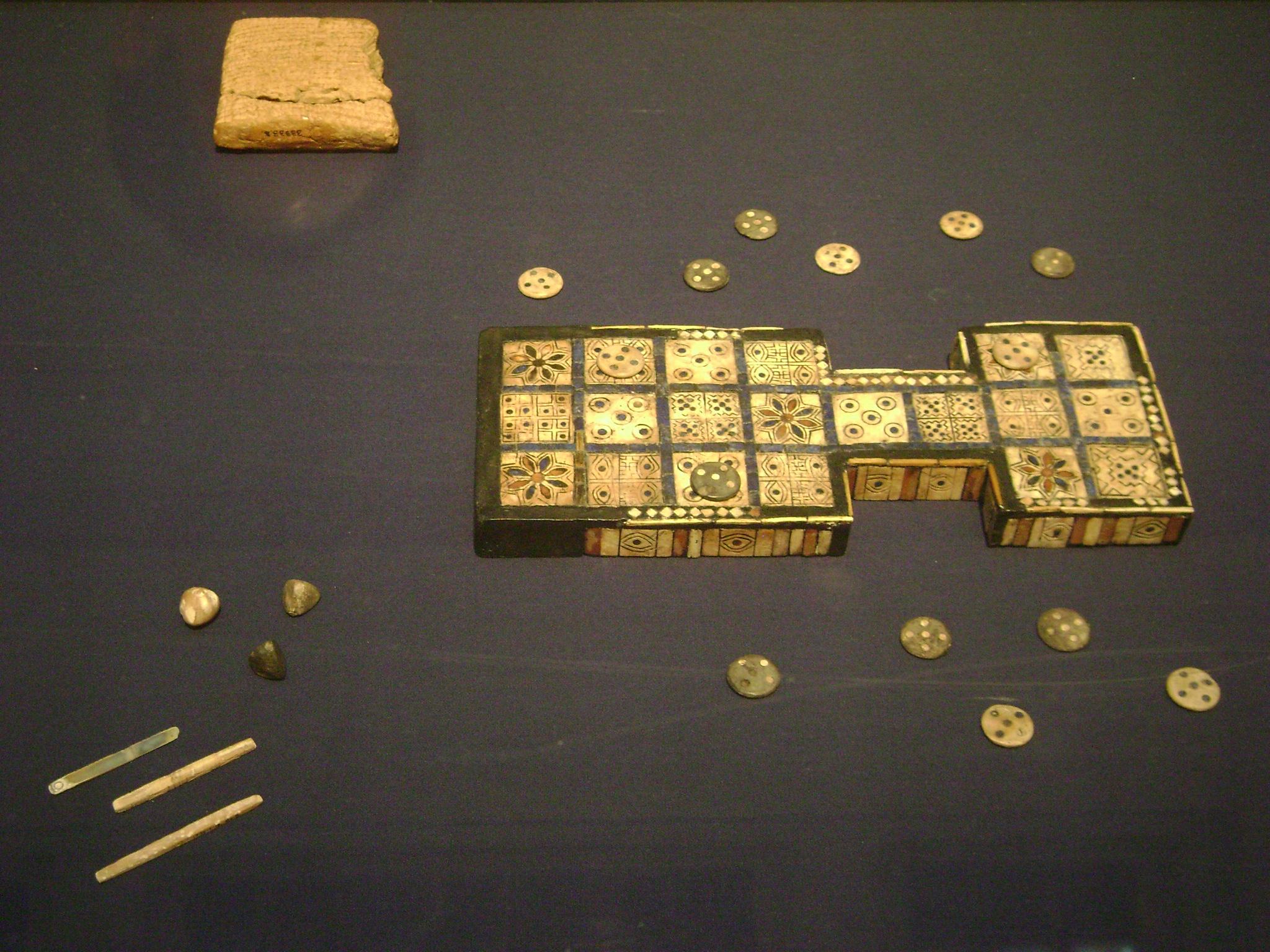 Das älteste Brettspiel der Welt würfelt Fate-ähnlich 1