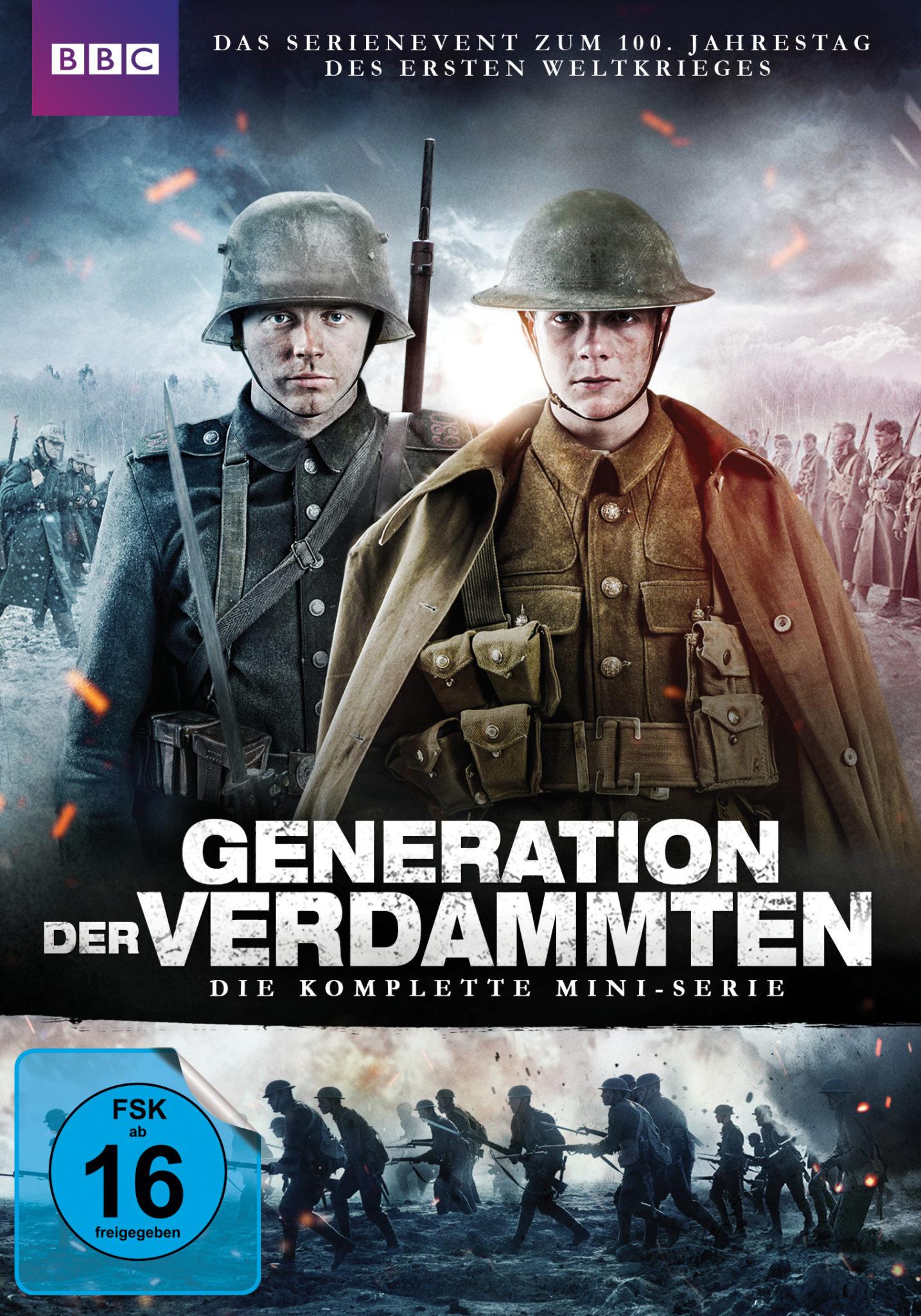 """Erster Weltkrieg mit Downton-Klängen: """"Generation der Verdammten"""" auf Bluray. 5"""